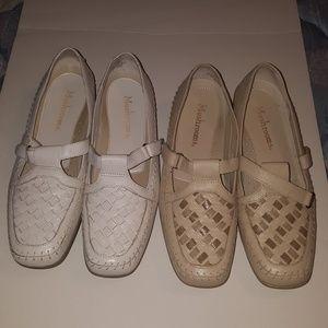 2 Lot Of Mushroom Womens Shoes Size 10